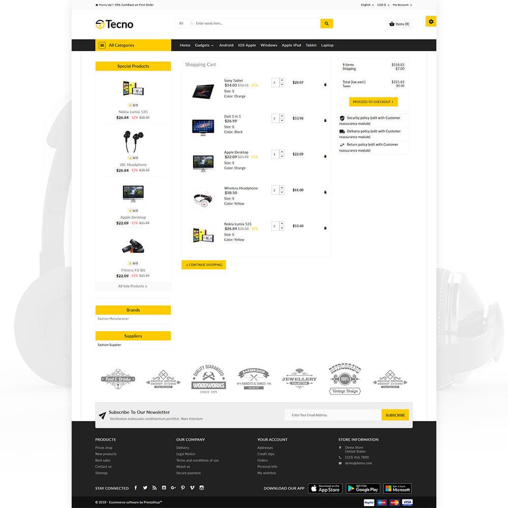 theme - Electrónica e High Tech - Tecno – The Electronic Multi Purpose Mall - 5