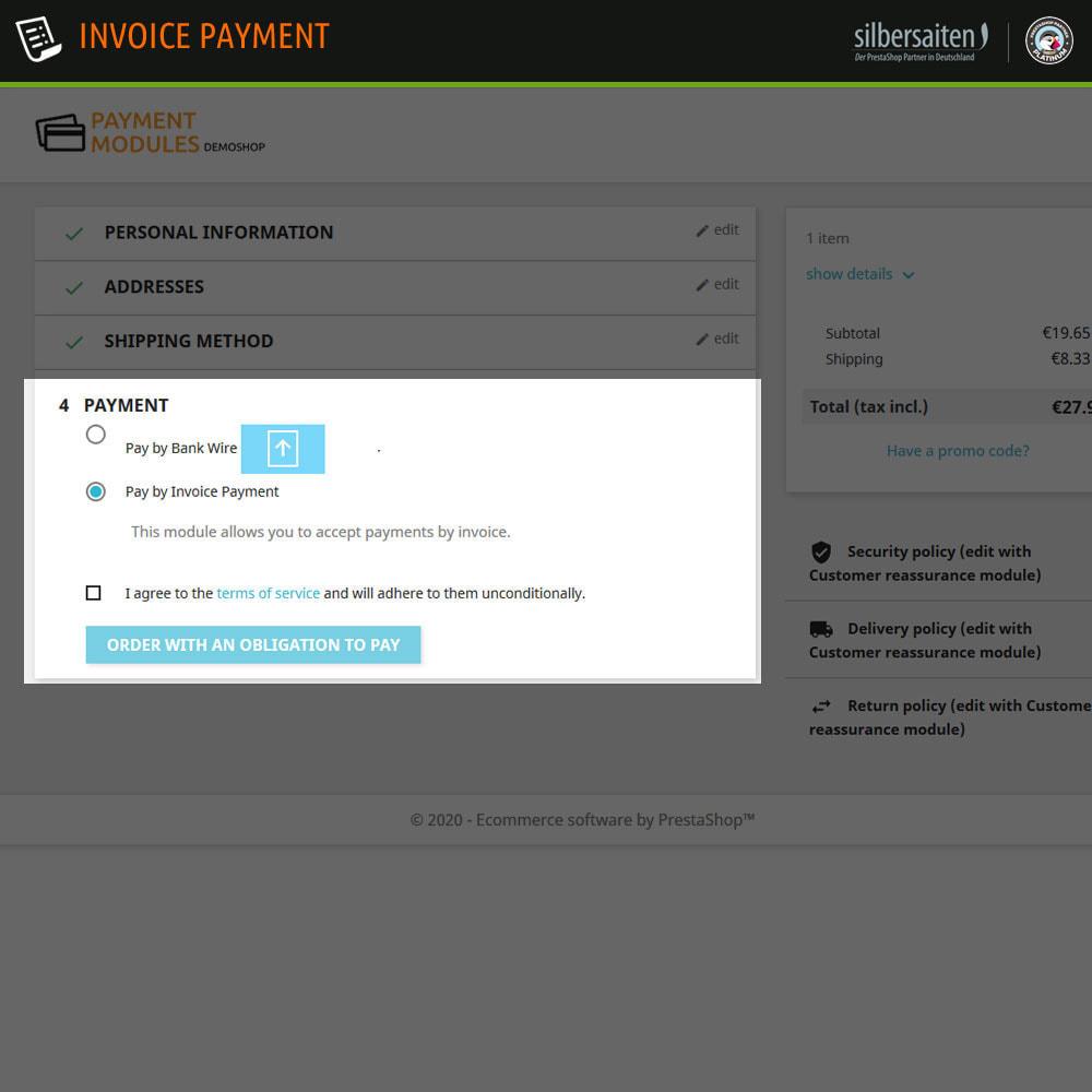 module - Zahlung auf Rechnung - Invoice Payment  - Zahlung auf Rechnung - 5