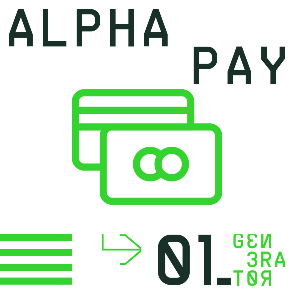 module - Creditcardbetaling of Walletbetaling - AlphaPay - 1