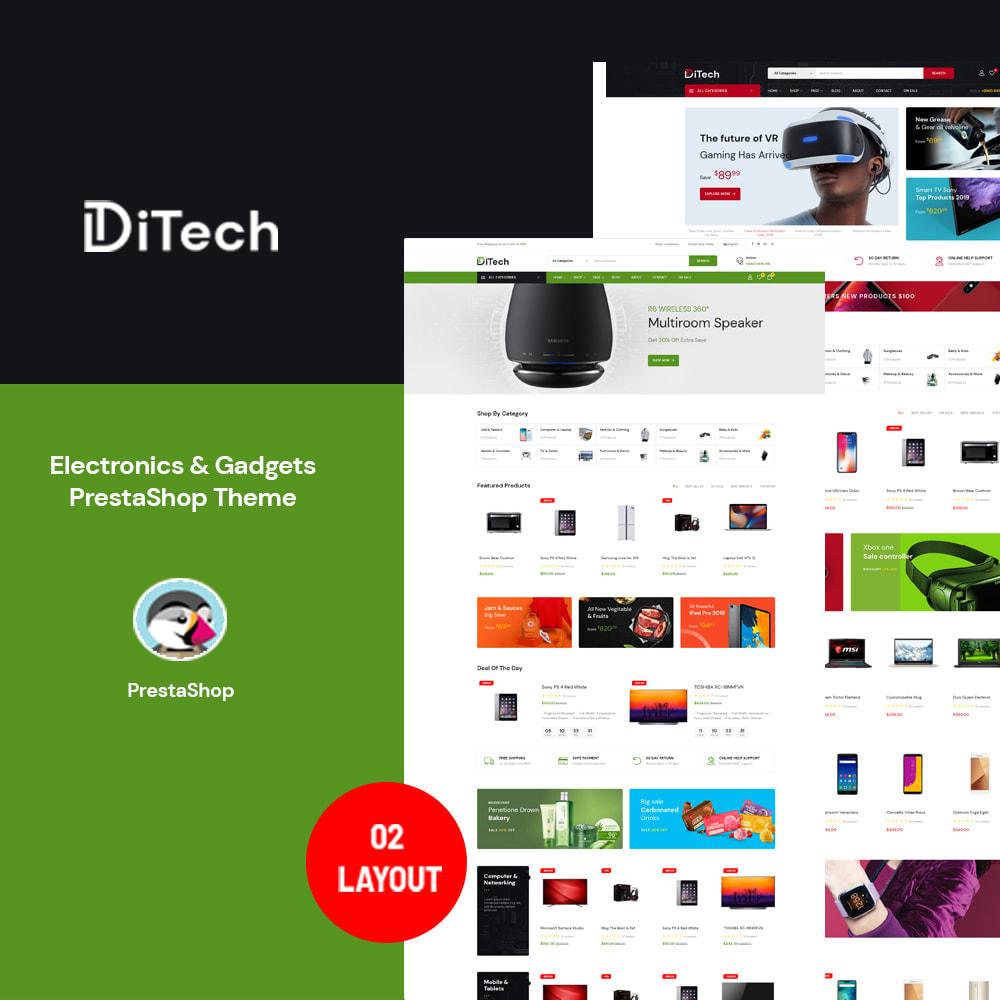 theme - Электроника и компьютеры - Ditech Electronics Ecommerce Store - 1