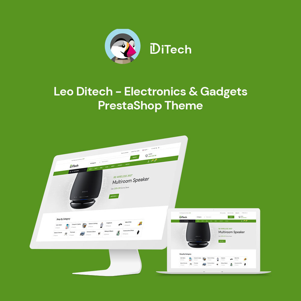 theme - Электроника и компьютеры - Ditech Electronics Ecommerce Store - 2