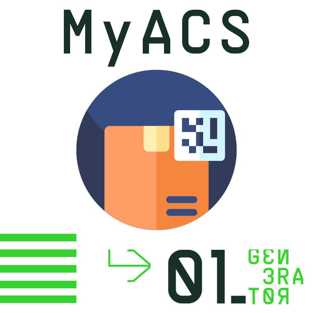 module - Transportadoras - MyACS Greek Voucher Print and Cost calculation - 1