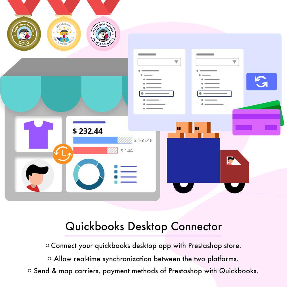 module - Integrazione (CRM, ERP...) - QuickBooks Desktop Connector - 1