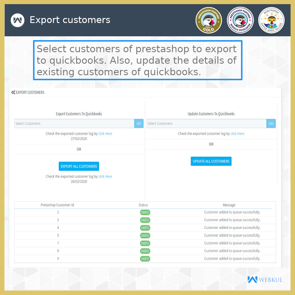 module - Integrazione (CRM, ERP...) - QuickBooks Desktop Connector - 3