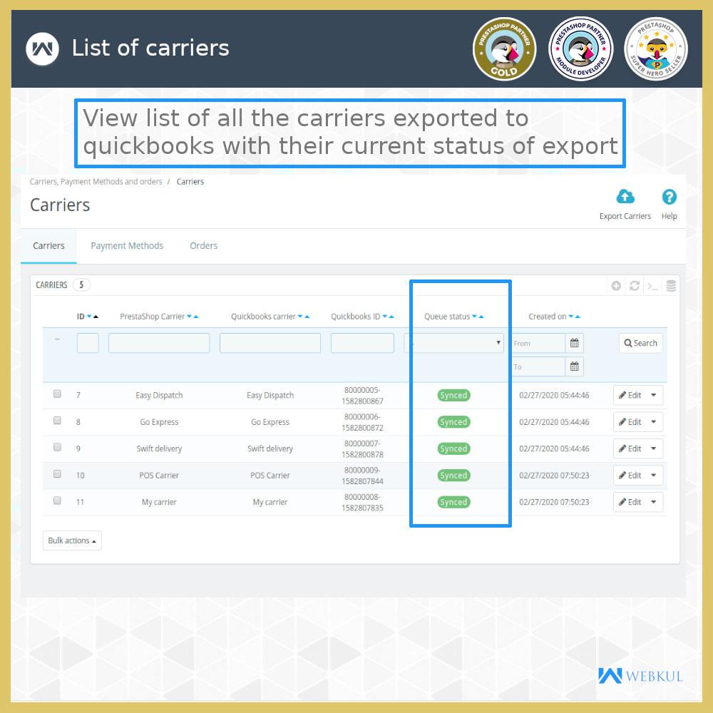 module - Integrazione (CRM, ERP...) - QuickBooks Desktop Connector - 9