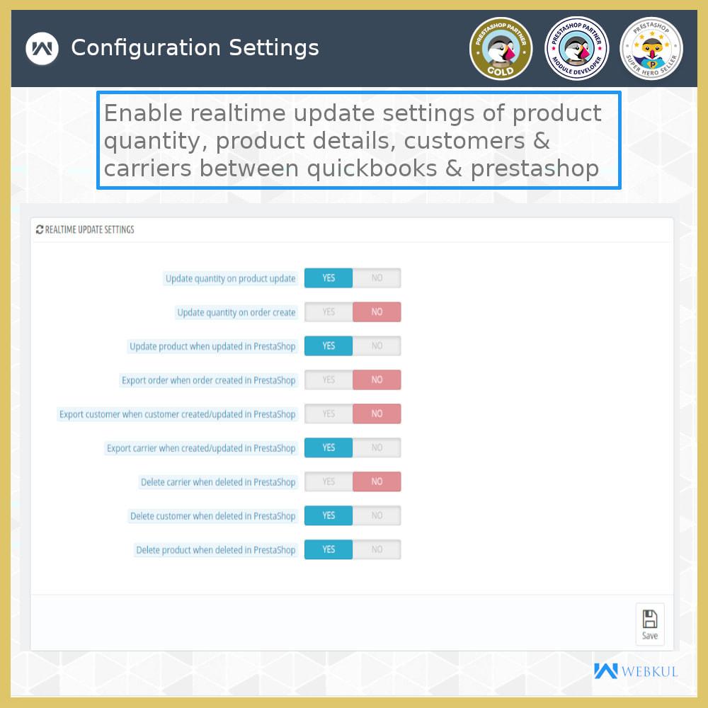 module - Integrazione (CRM, ERP...) - QuickBooks Desktop Connector - 21
