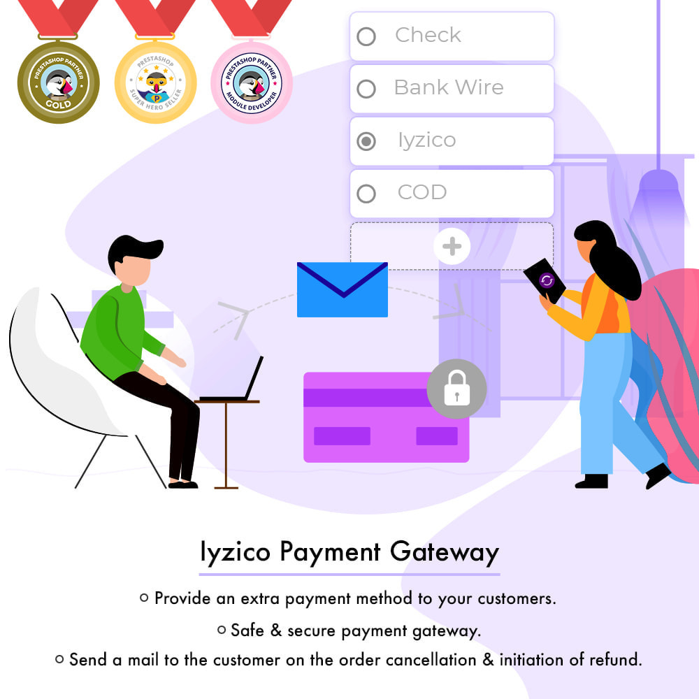 module - Payment by Card or Wallet - Iyzico Payment Gateway - 1