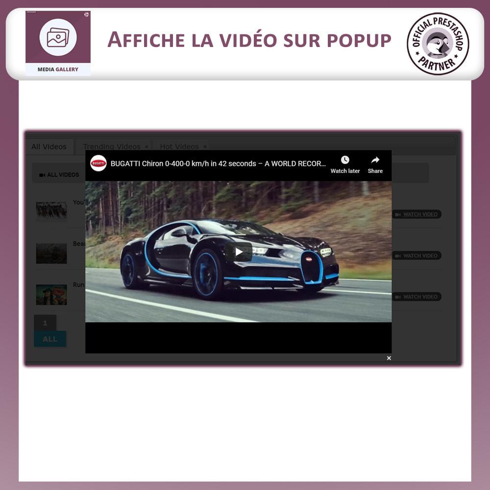 module - Produits virtuels (téléchargeables) - Galerie multimédia - Galerie de vidéo - 4
