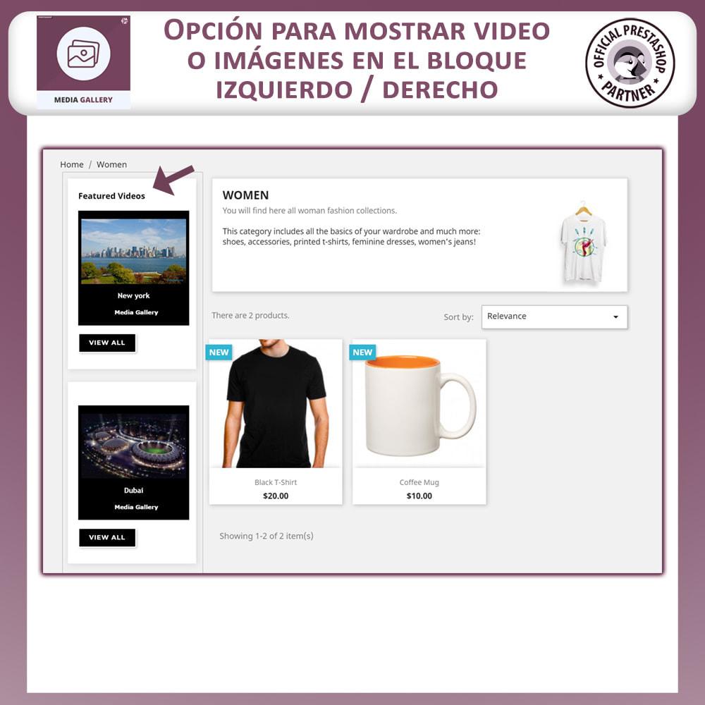 module - Productos Digitales (de descarga) - Galería de medios - Galería de vídeos - 6