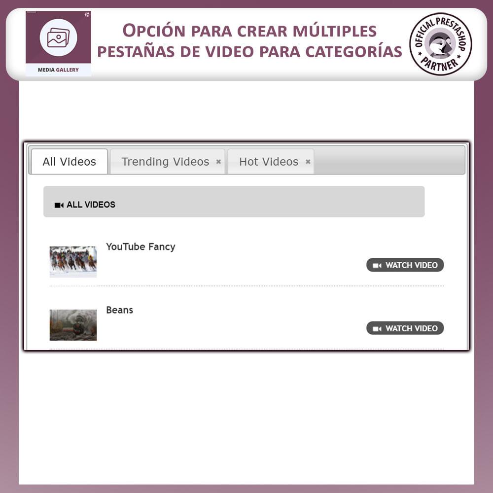 module - Productos Digitales (de descarga) - Galería de medios - Galería de vídeos - 5