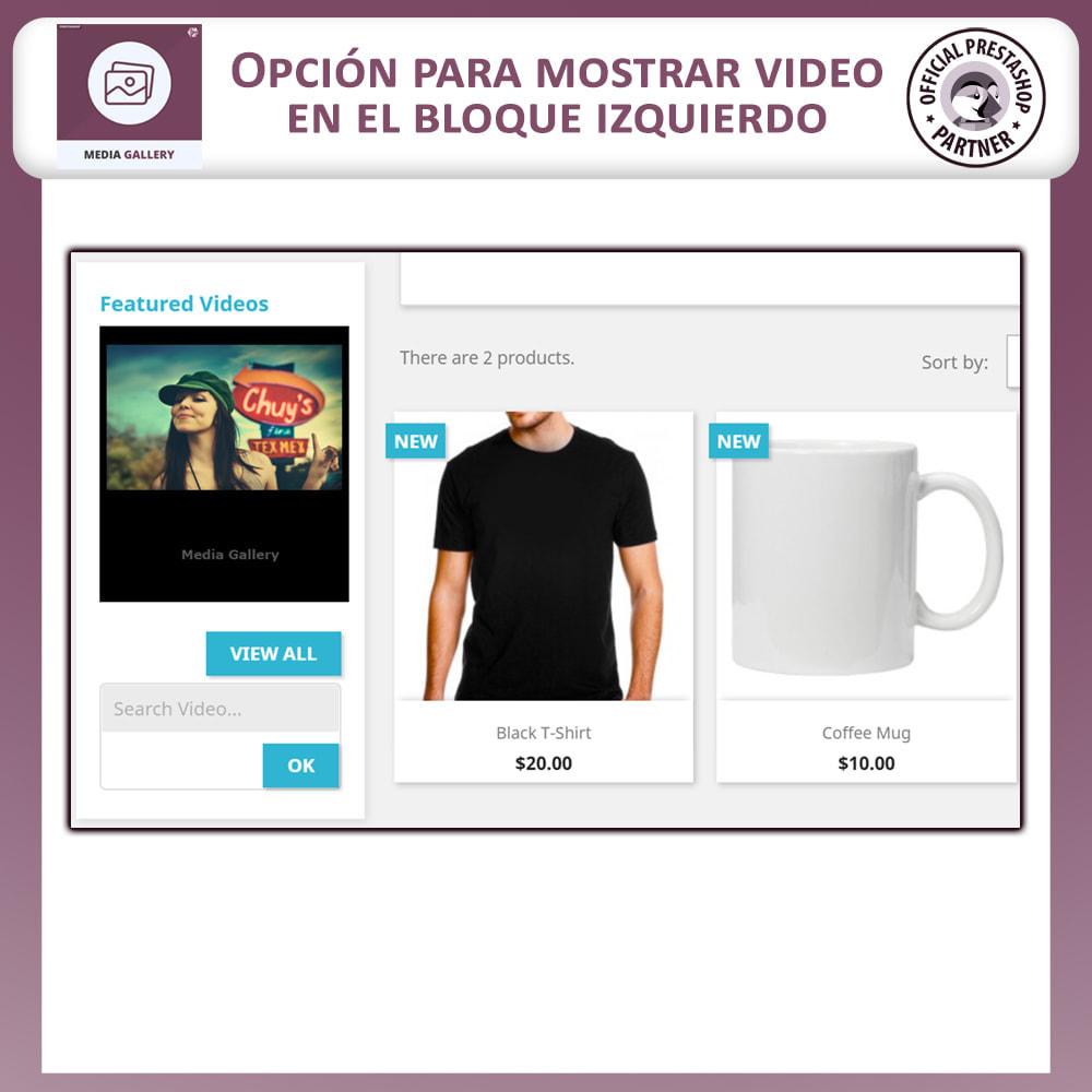 module - Productos Digitales (de descarga) - Galería de medios - Galería de vídeos - 7