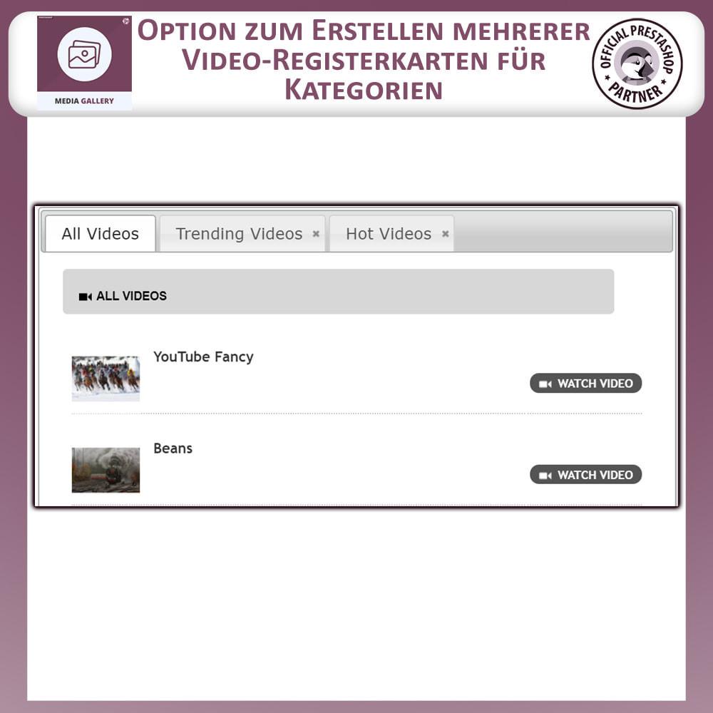 module - Digitale Produkt - Mediengalerie - Videogalerie - 5