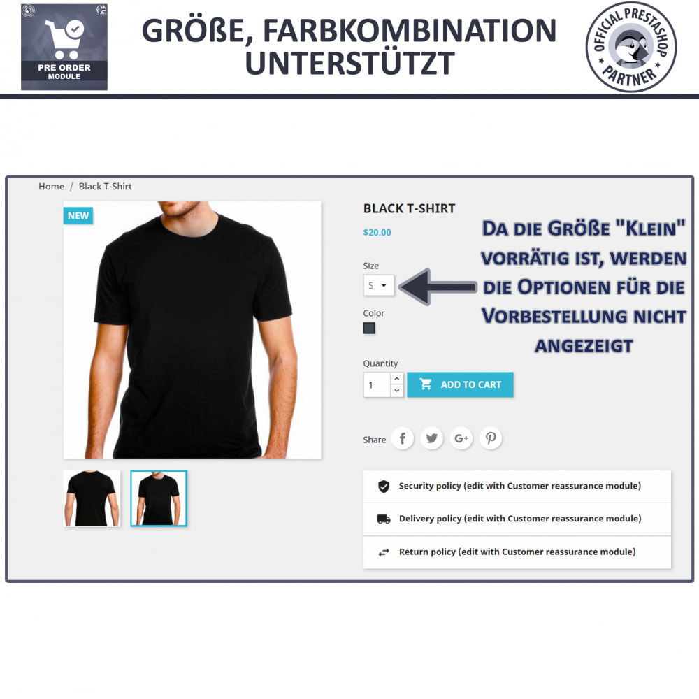 module - Anmeldung und Bestellvorgang - Pre-Order - Advance Booking | Out of Stock Selling - 6
