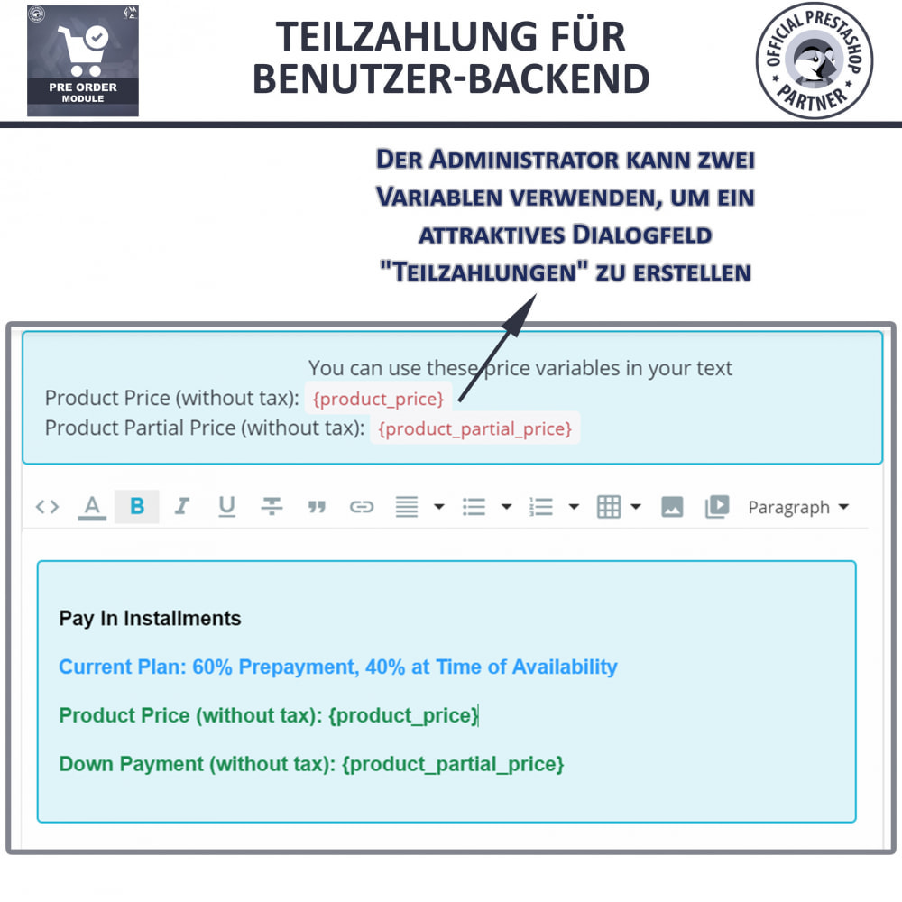 module - Anmeldung und Bestellvorgang - Pre-Order - Advance Booking | Out of Stock Selling - 12