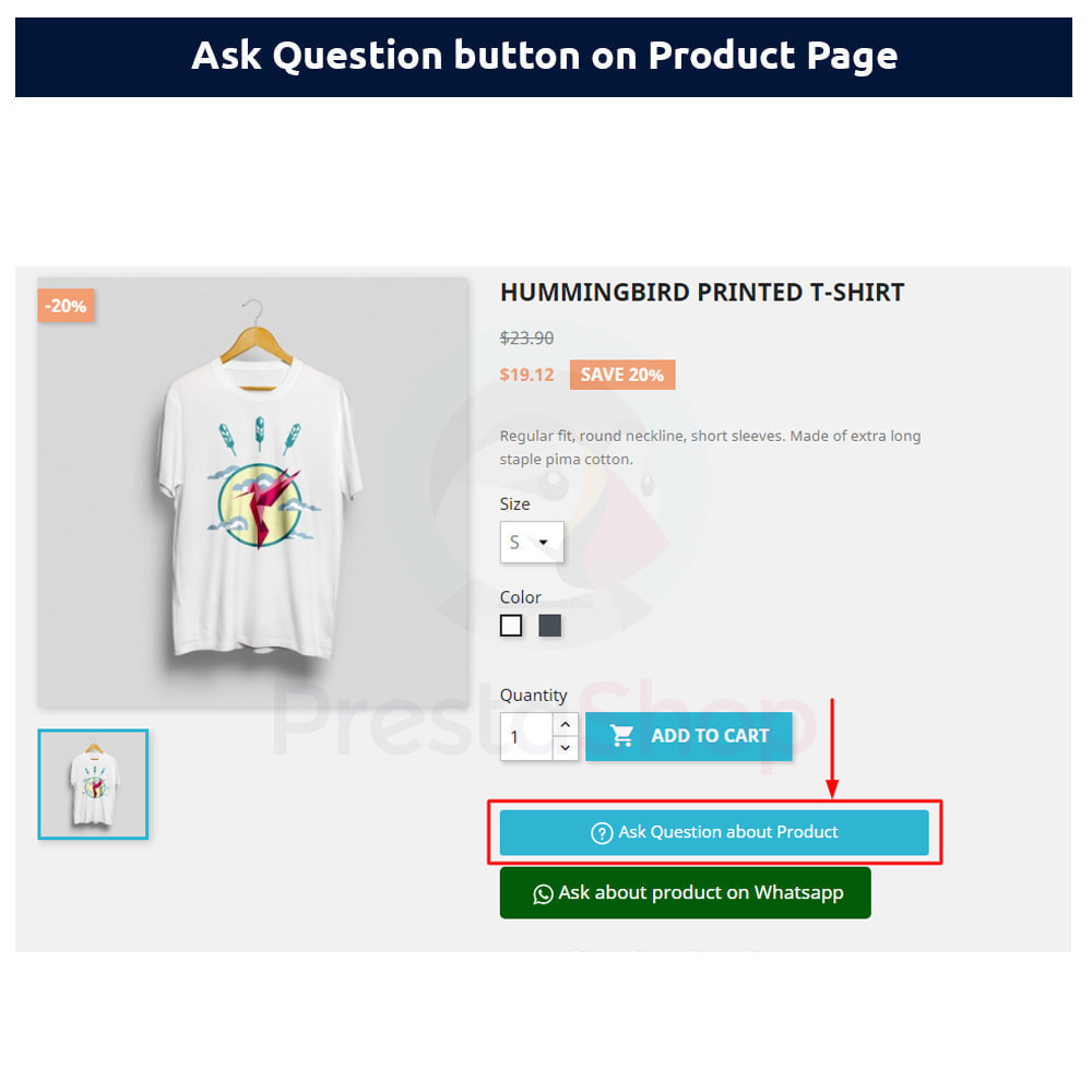 module - Форма обратной связи и Опросы - Ask Question about Product - 1