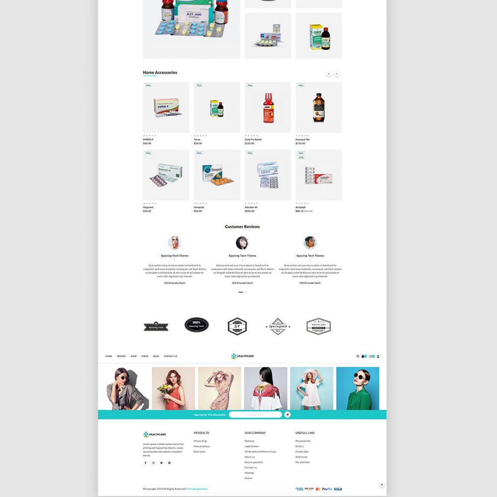 theme - Health & Beauty - Healthcare - The Medicine & Health Accessories Store - 4