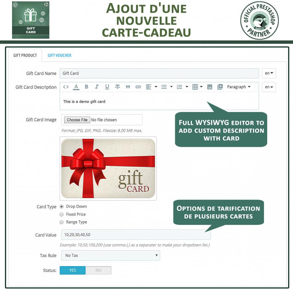 module - Liste de souhaits & Carte cadeau - Carte Cadeau - 11