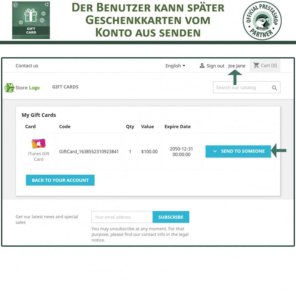 module - Wunschzettel & Geschenkkarte - Geschenk-Karten - 6