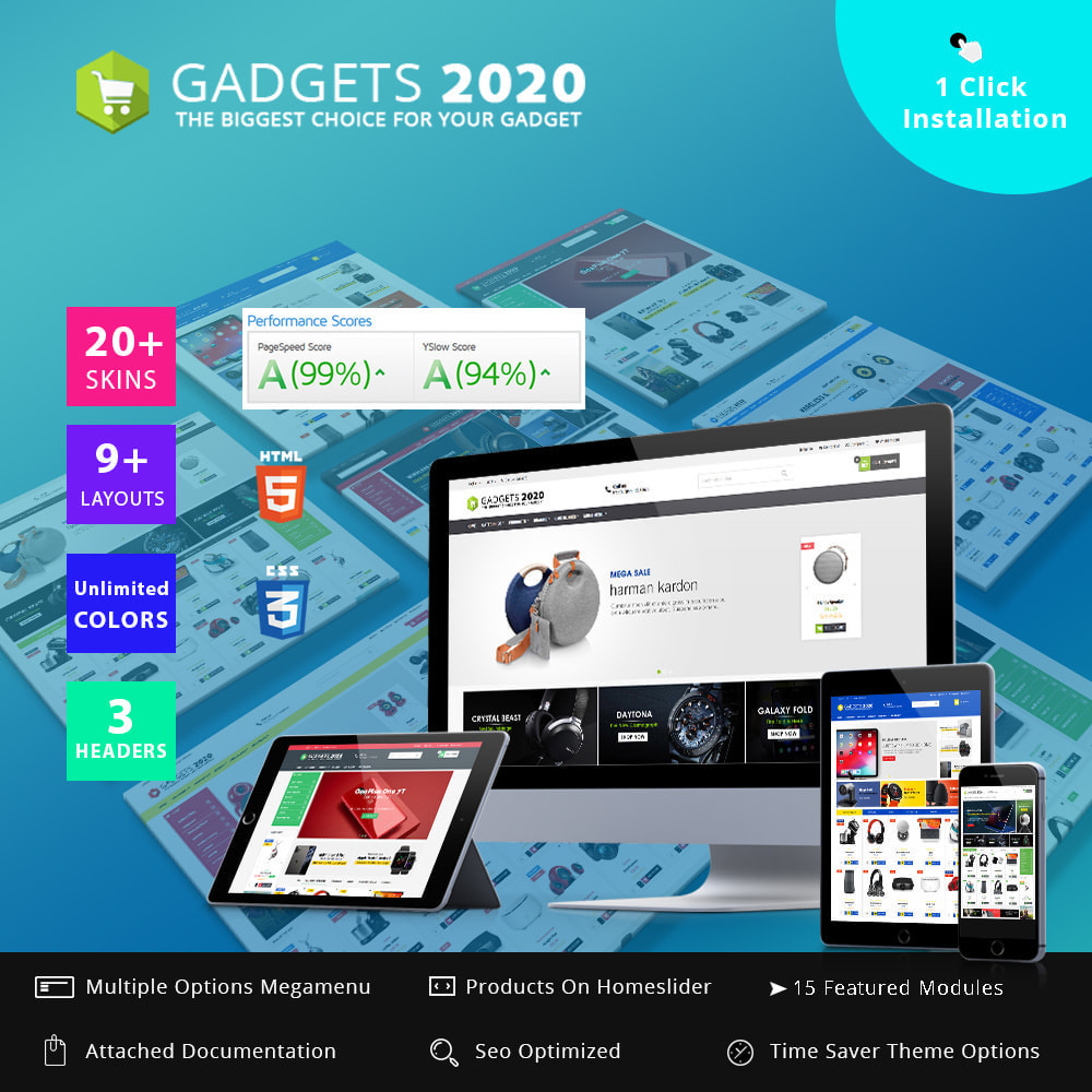 theme - Elektronik & High Tech - Gadgets 2022 - Best online multi store - 1