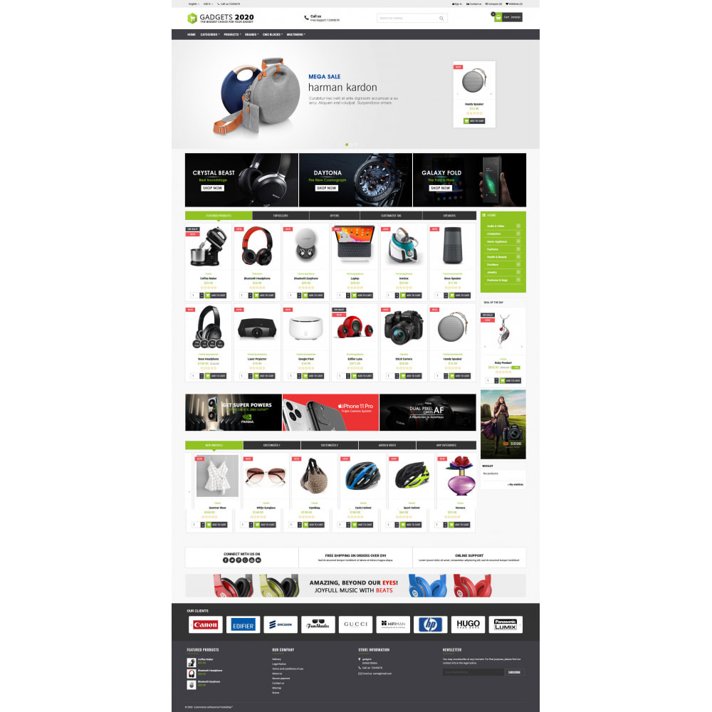 theme - Elektronik & High Tech - Gadgets 2022 - Best online multi store - 2