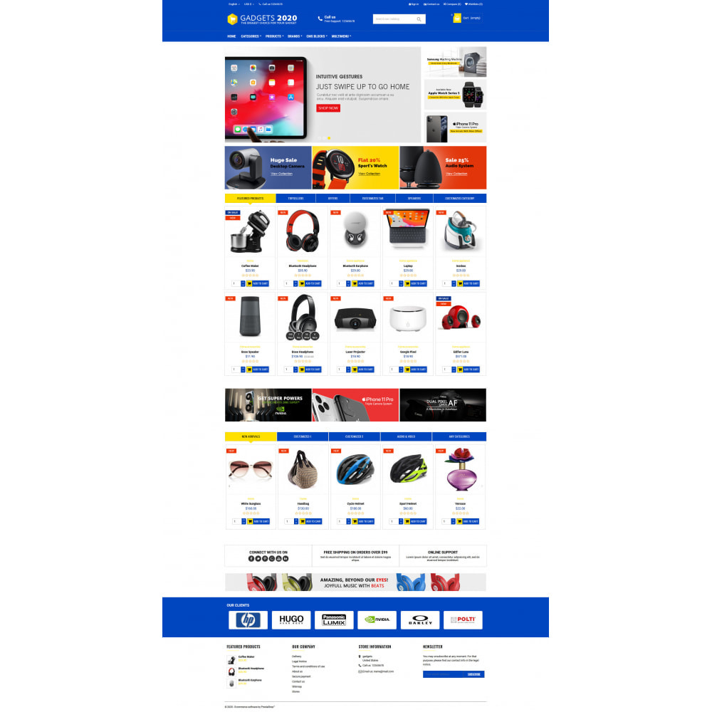 theme - Elettronica & High Tech - Gadgets 2020 - Best online multi store - 3