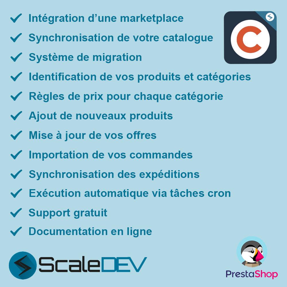 module - Marketplaces - Cdiscount - Synchronisation à la marketplace - 1