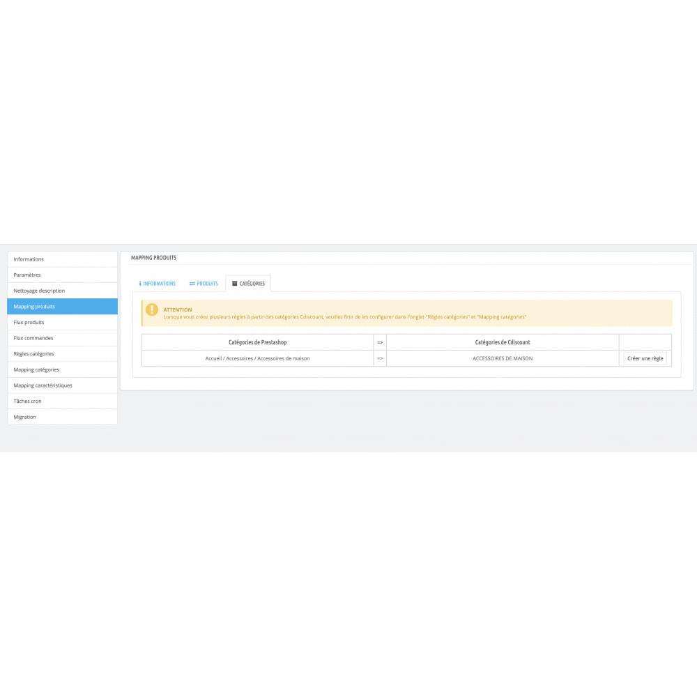 module - Marketplaces - Cdiscount - Synchronisation à la marketplace - 16