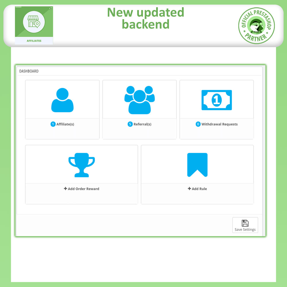 module - SEA SEM (paid advertising) & Affiliation Platforms - Affiliates Pro: Full Affiliate & Referral Program - 12