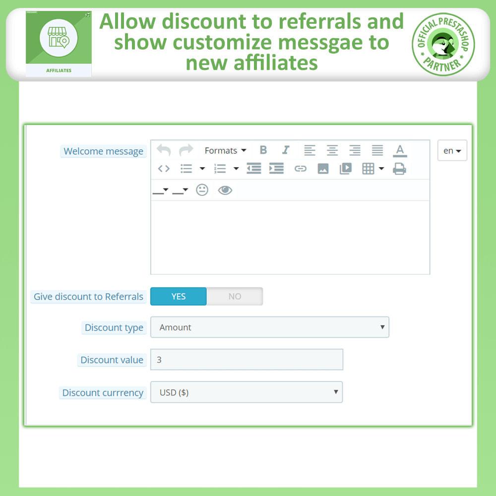 module - SEA SEM (paid advertising) & Affiliation Platforms - Affiliates Pro: Full Affiliate & Referral Program - 14