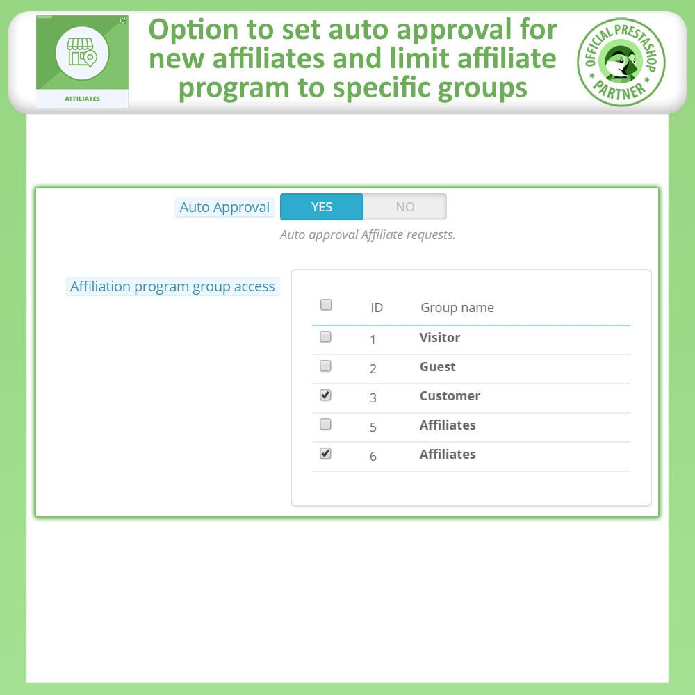 module - SEA SEM (paid advertising) & Affiliation Platforms - Affiliates Pro: Full Affiliate & Referral Program - 15