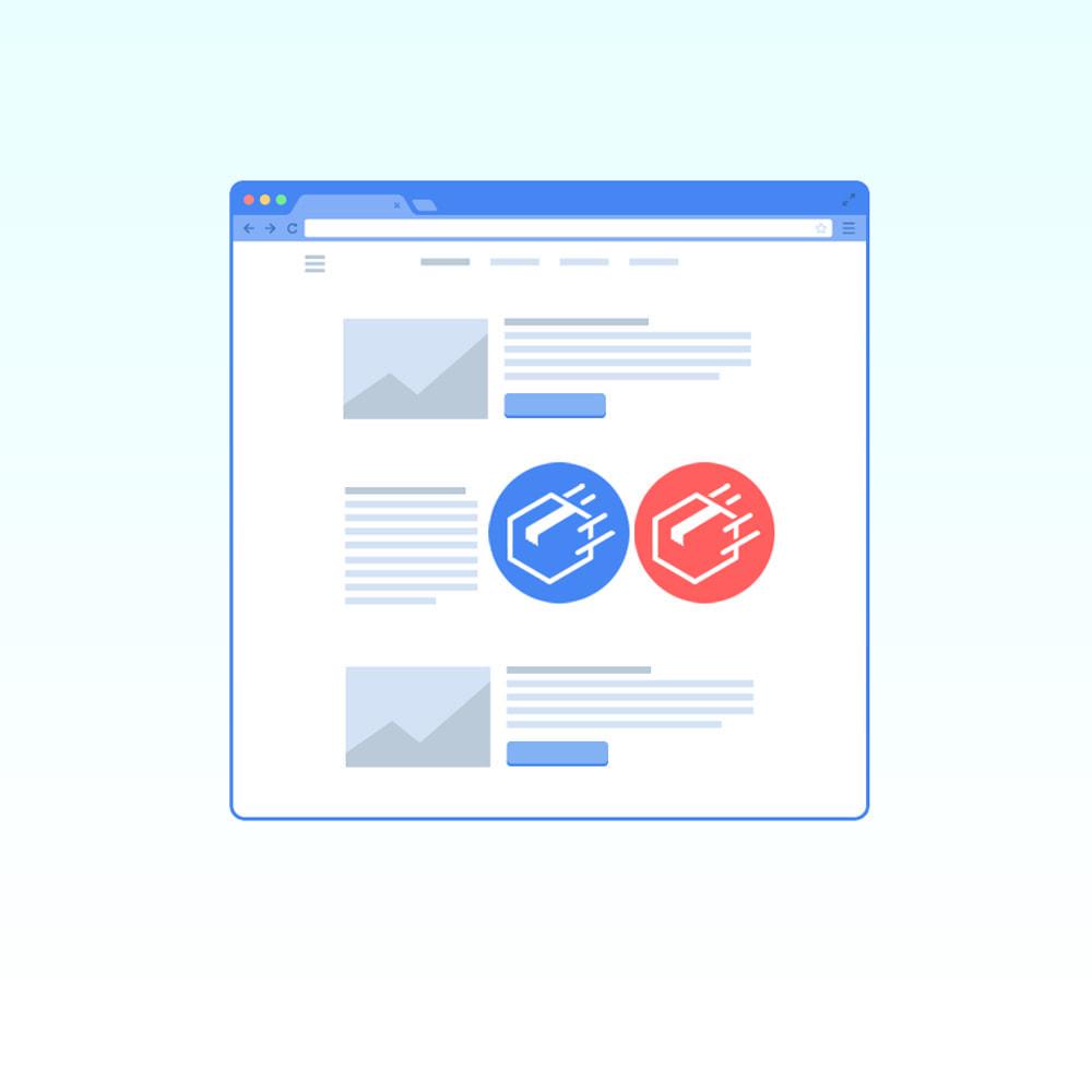 module - Produits en page d'accueil - Produits sur les pages CMS - 1