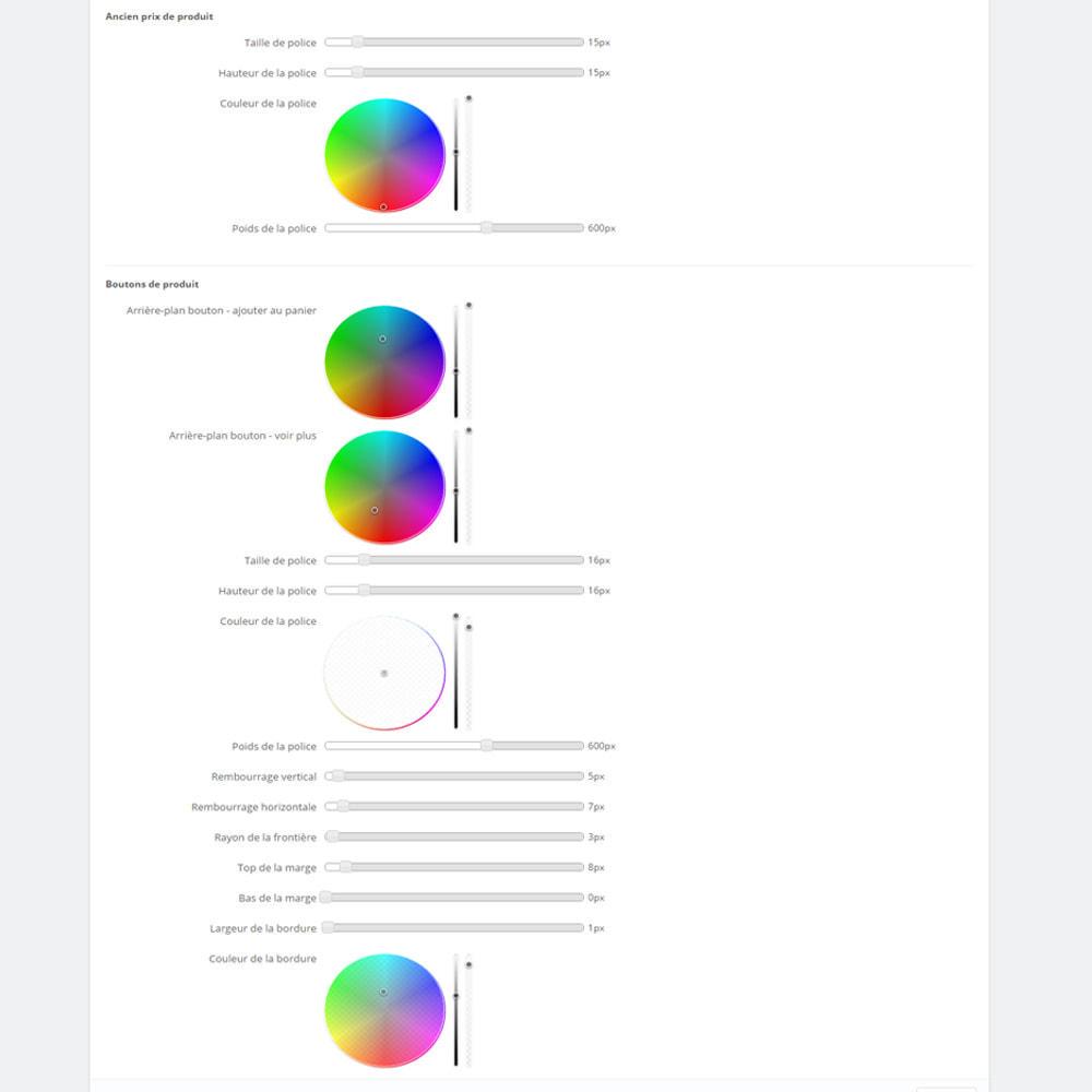 module - Produits en page d'accueil - Produits sur les pages CMS - 8