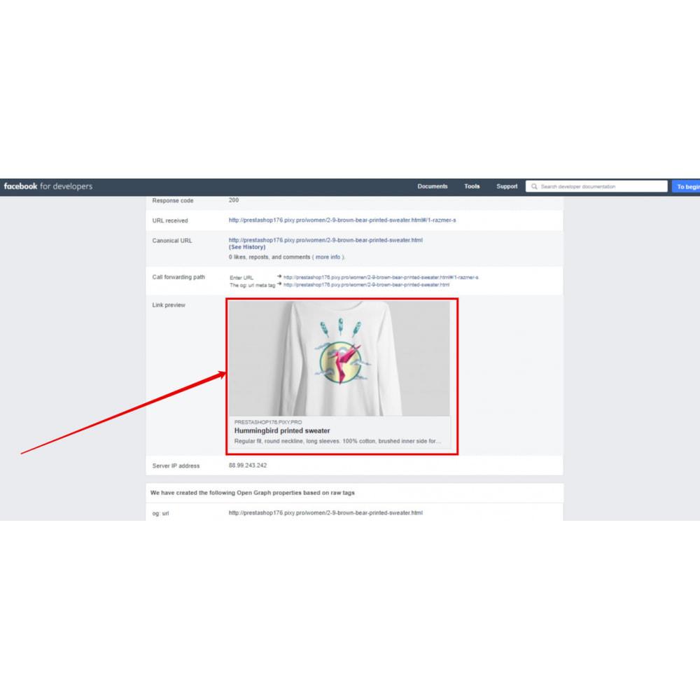 module - Boutons de Partage & Commentaires - Open Graph protocol (Twitter Card, Pinterest) - 1