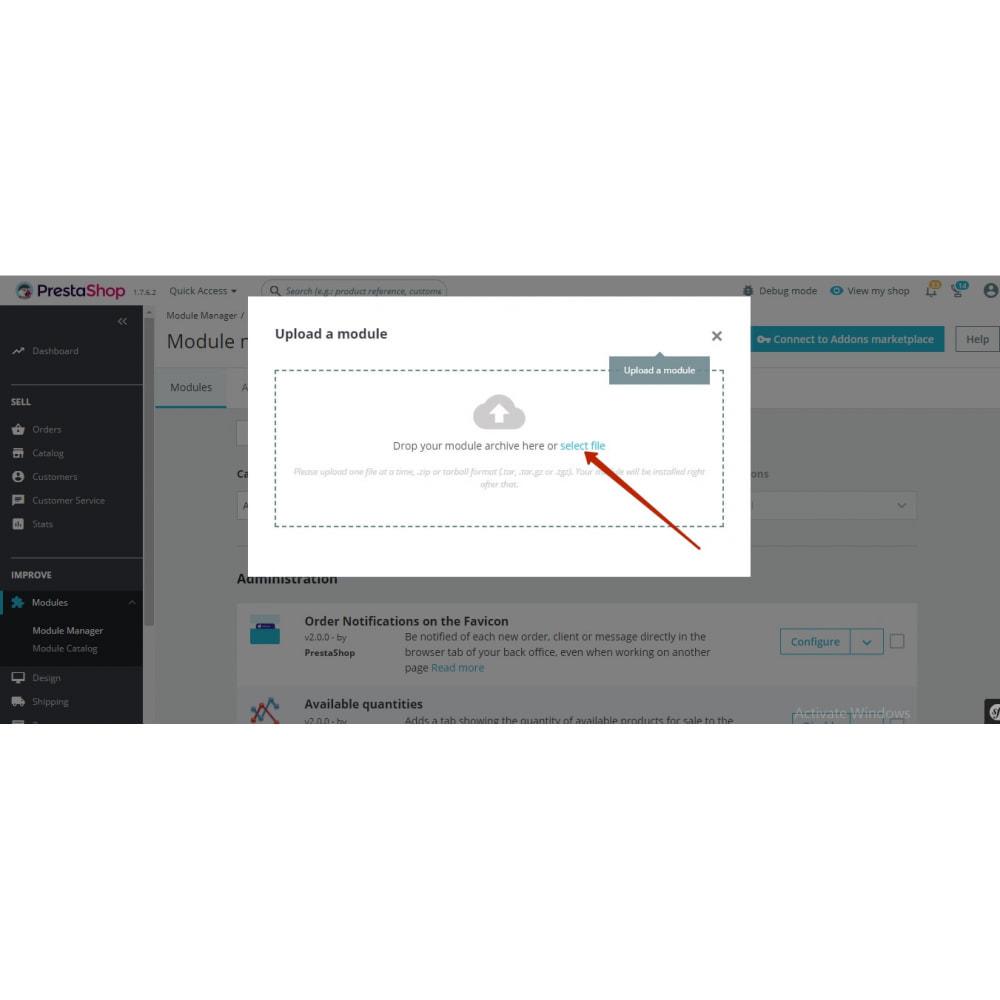 module - Boutons de Partage & Commentaires - Open Graph protocol (Twitter Card, Pinterest) - 3