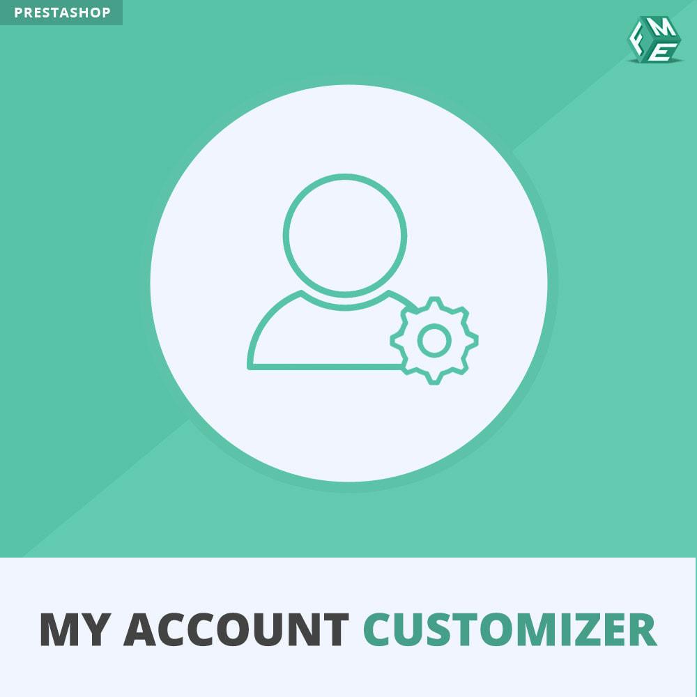 module - Amministrazione - Il Mio Account Customizer - 1