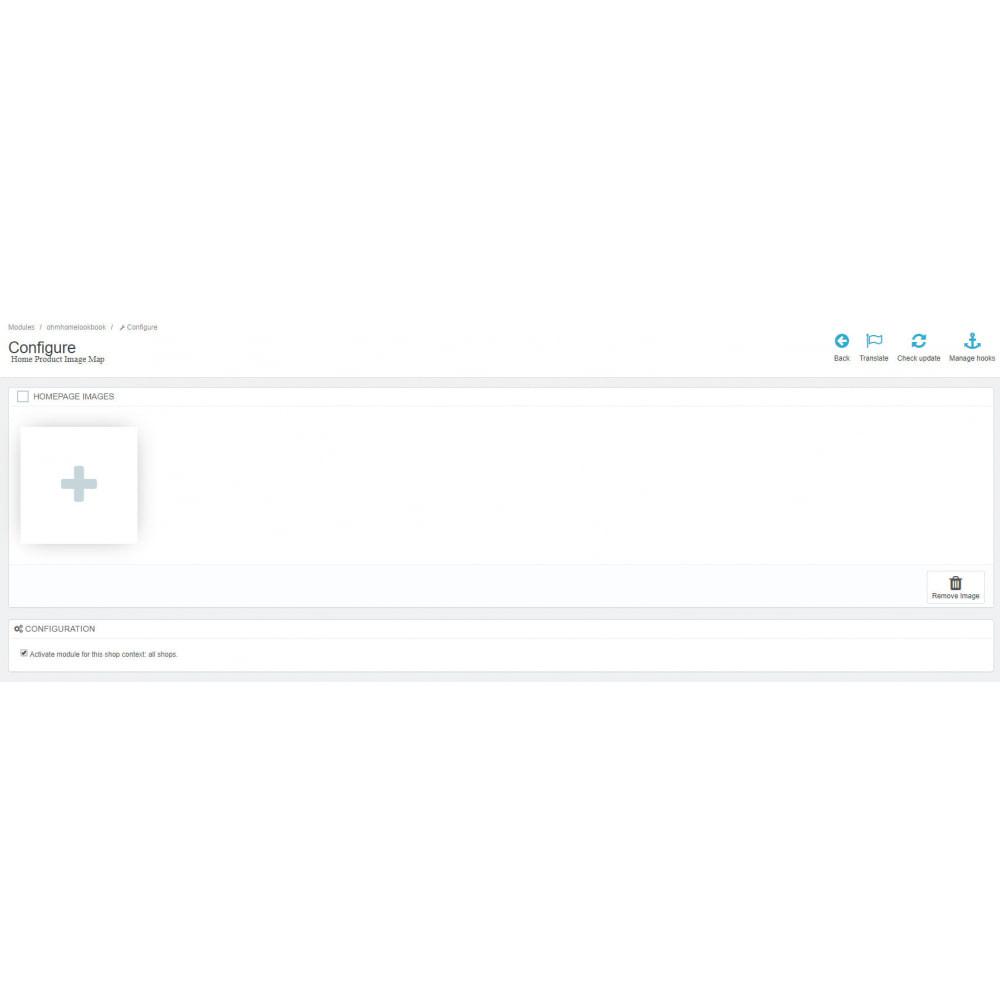 module - Personalização de página - Home Product Image Map - 1