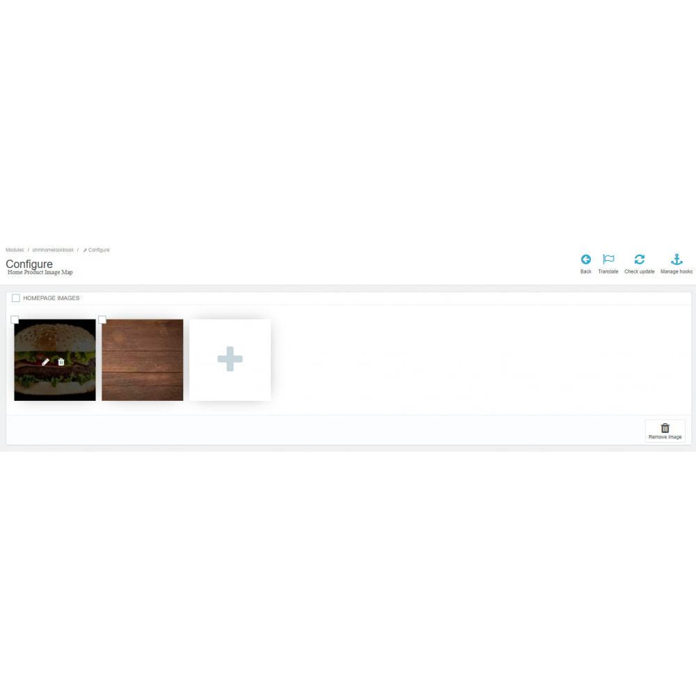 module - Personalização de página - Home Product Image Map - 2