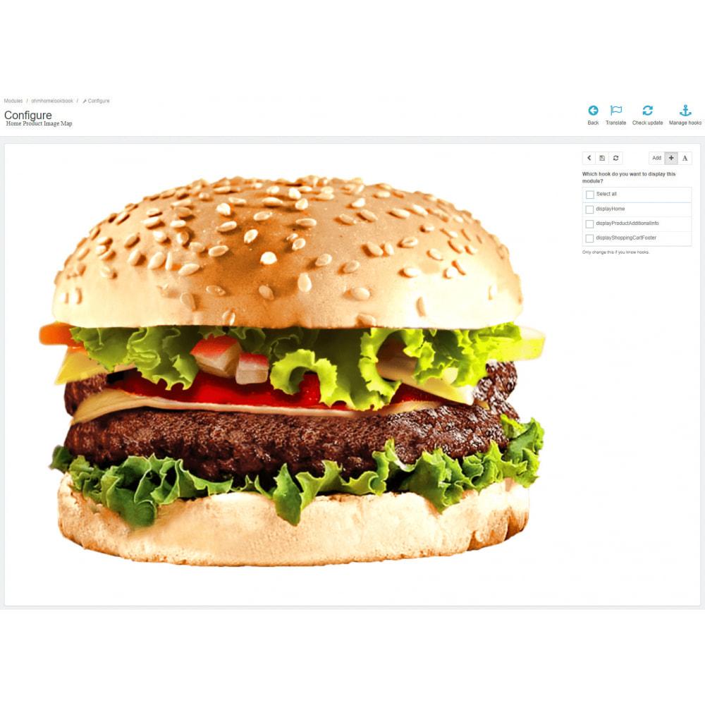 module - Personalização de página - Home Product Image Map - 3