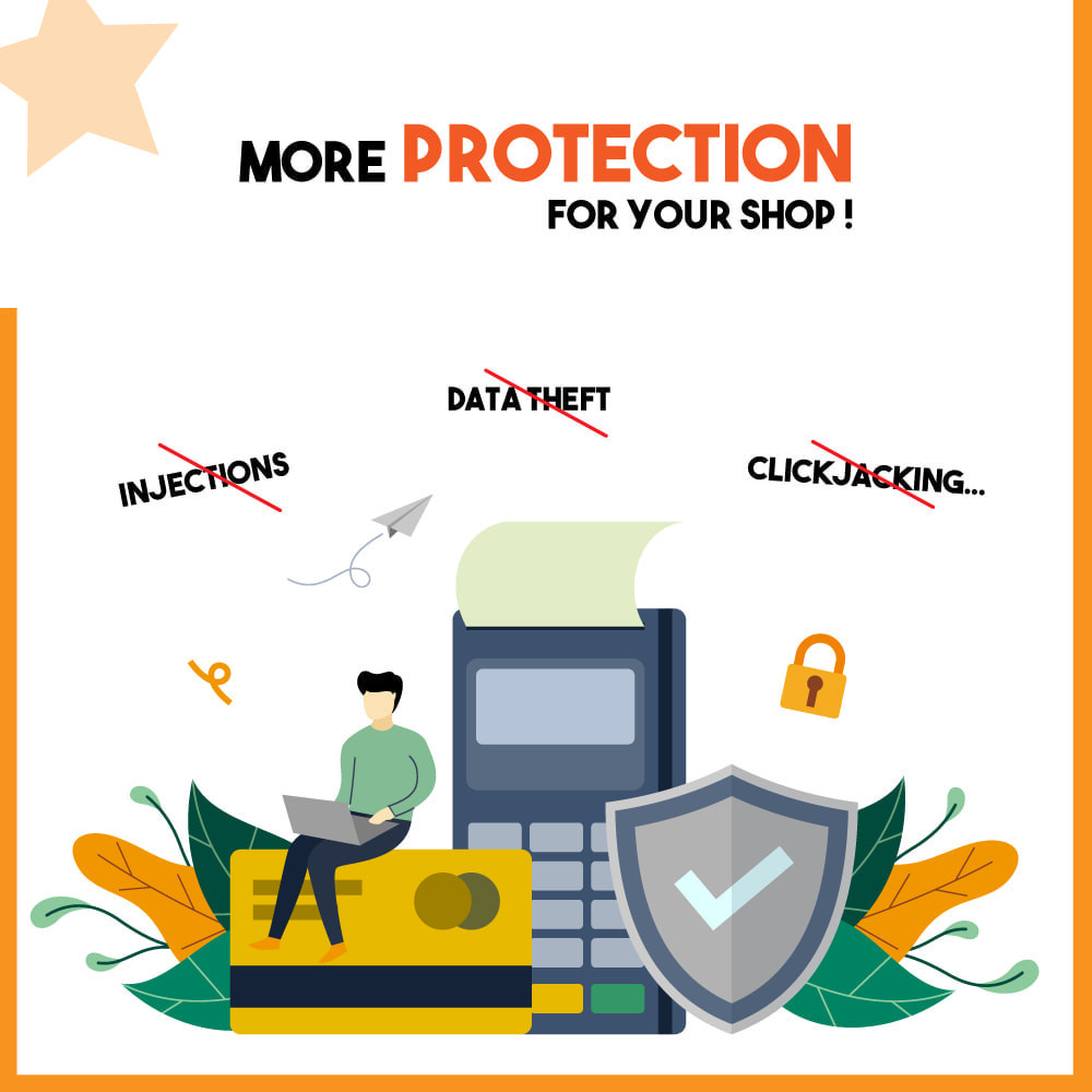 module - Segurança & Acesso - Protect My Shop - 1