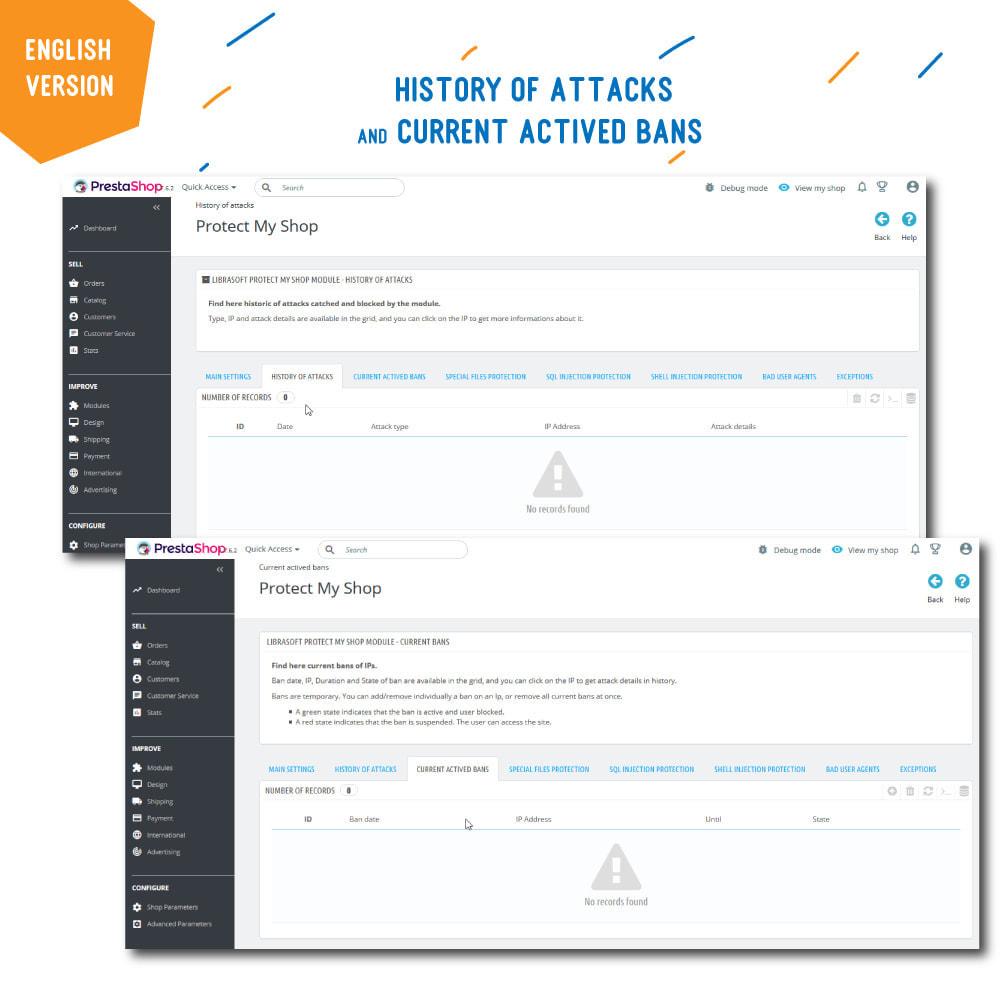 module - Segurança & Acesso - Protect My Shop - 4