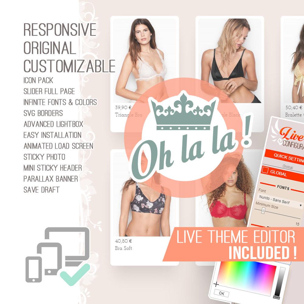 theme - Lingerie & Adulte - Oh la la ! - 1