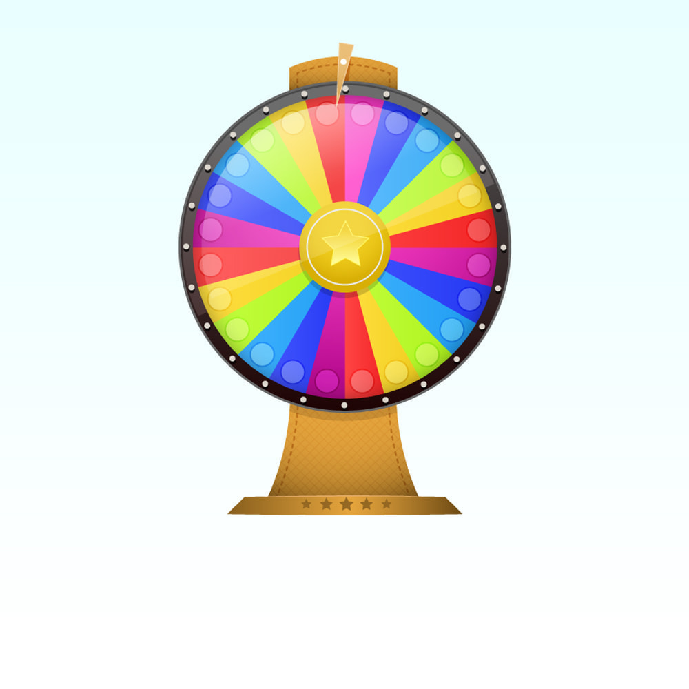 module - Jogos para os Clientes - Wheel of Fortune, discounts and gifts to customers - 1