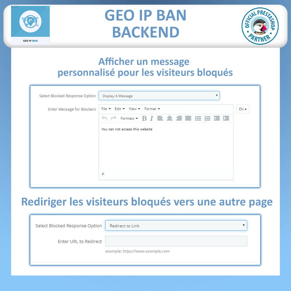 module - Sécurité & Accès - Bloquer les Bots et les Utilisateurs par IP ou pays - 3