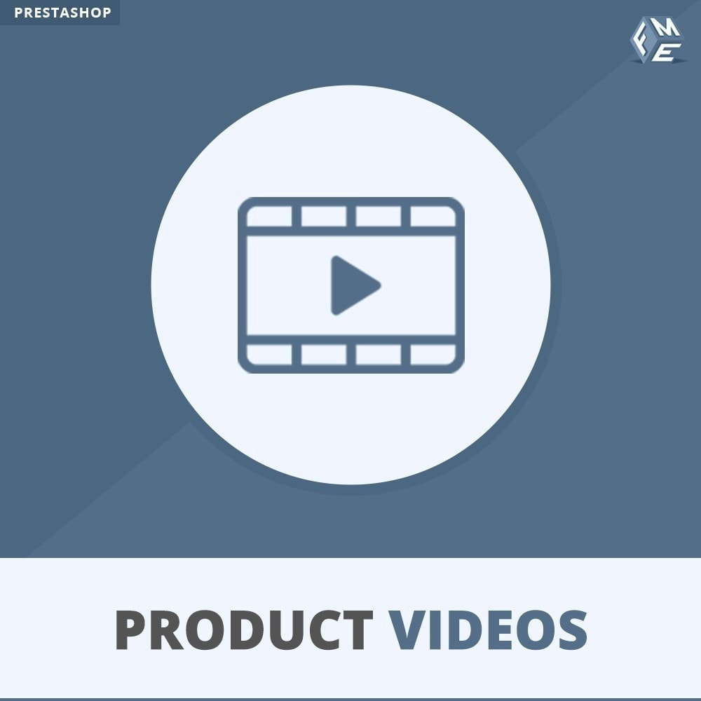 module - Vidéo & Musique - Product Videos - Upload or Embed YouTube, Vimeo - 1