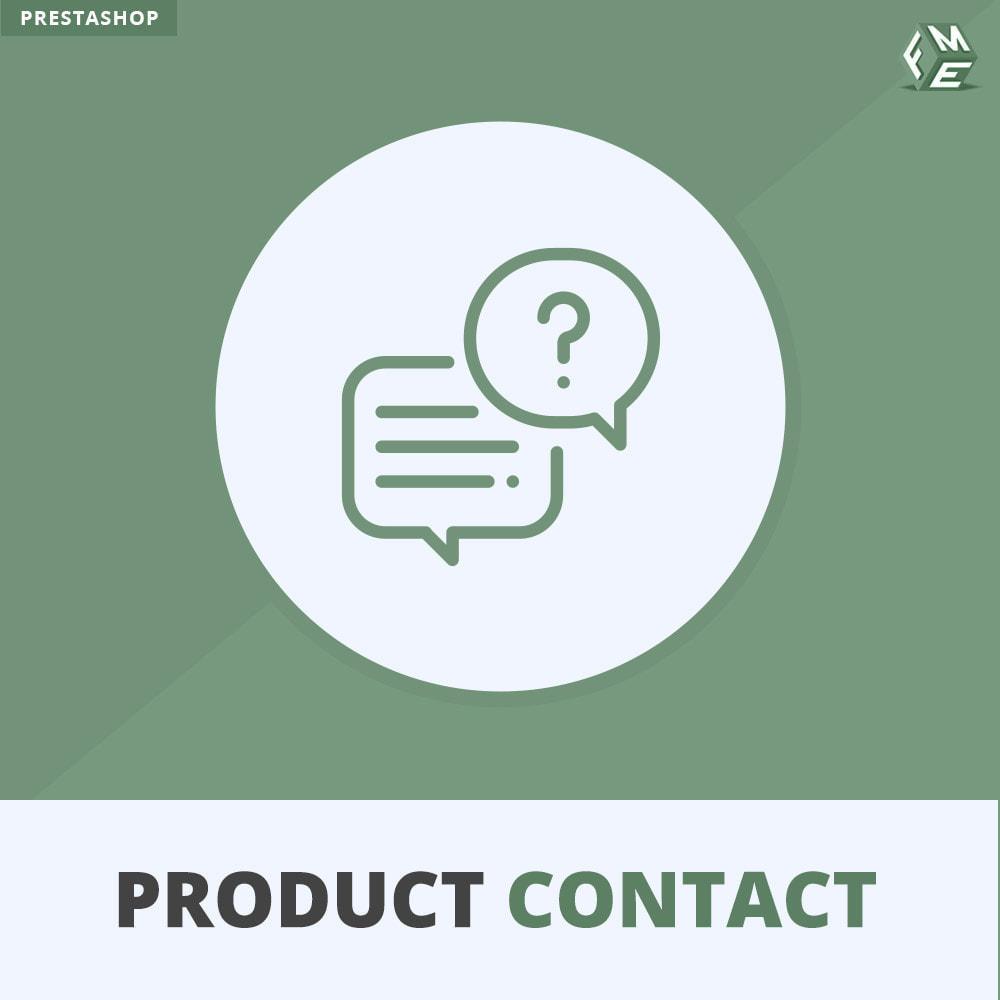 module - Kontaktformular & Umfragen - Produkt Kontakt - Anfrageformular - 1