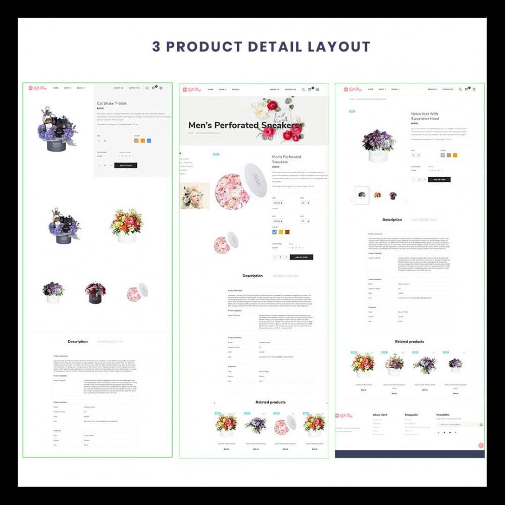 theme - Regali, Fiori & Feste - Flower Store eCommerce Bootstrap 4 - 2