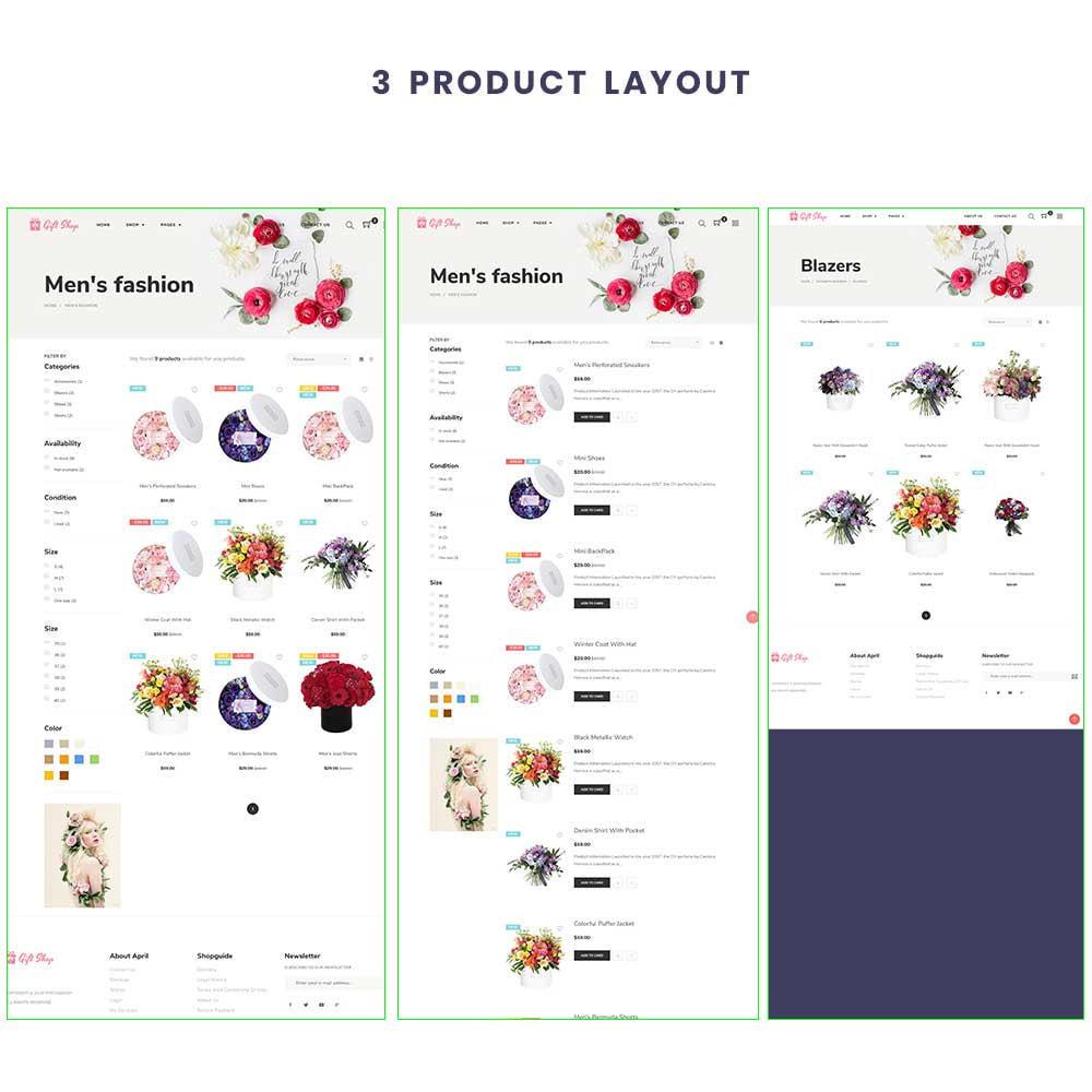 theme - Regali, Fiori & Feste - Flower Store eCommerce Bootstrap 4 - 3