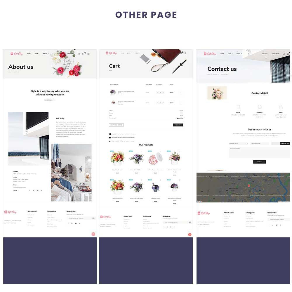 theme - Regali, Fiori & Feste - Flower Store eCommerce Bootstrap 4 - 4