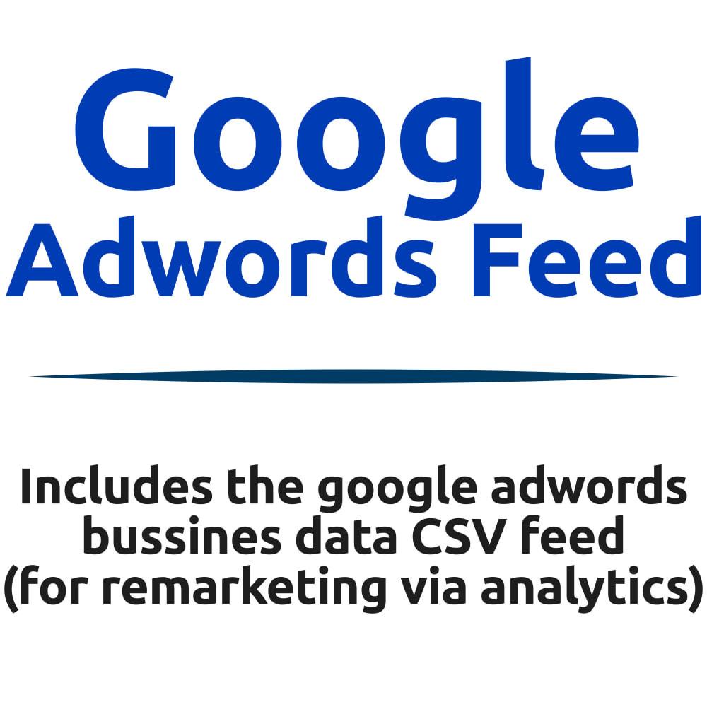 module - SEA SEM pago & Filiação - Google Adwords Business Data CSV Feed - 1