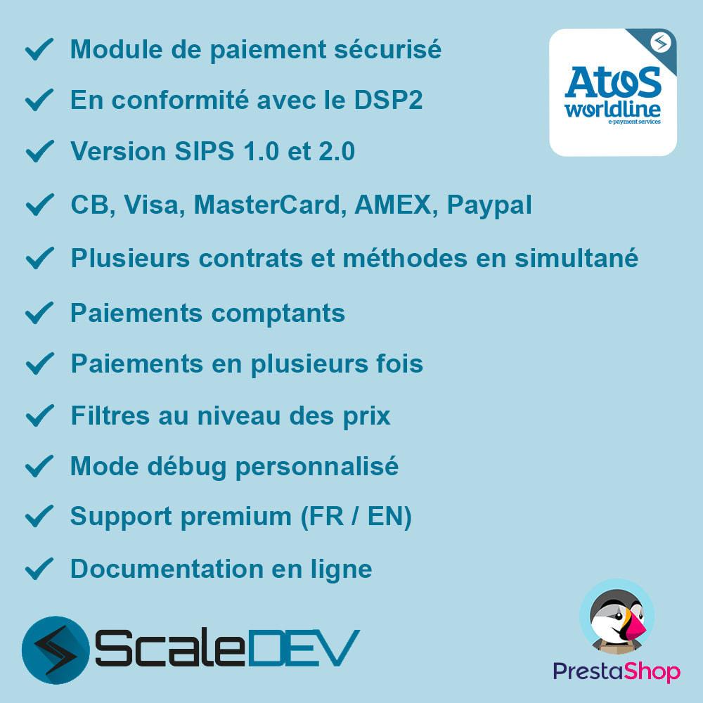 module - Paiement par Carte ou Wallet - Atos - Worldline (SIPS 1.0 & 2.0) - 1